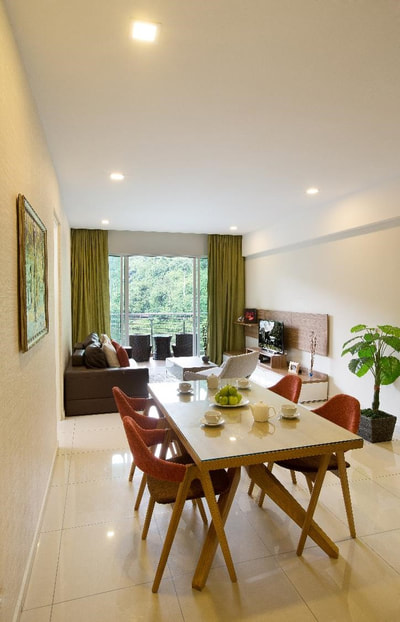 One-bedroom lakeview suite at The Haven Resort Hotel in Ipoh, Malaysia