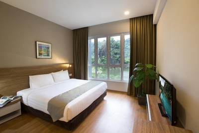 Accommodation at The Haven Resort Hotel in Ipoh, Malaysia