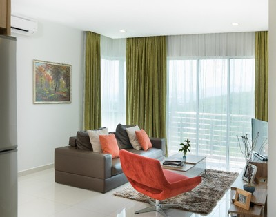 Two-bedroom horizon suite at The Haven Resort Hotel in Ipoh, Malaysia