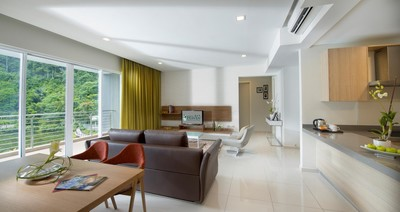 3+1 Bedroom Lakeview Ambassador Suite at The Haven Resort Hotel in Ipoh, Malaysia