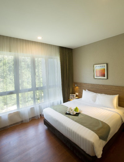 3-bedroom lakeview premier suite at The Haven Resort Hotel in Ipoh, Malaysia