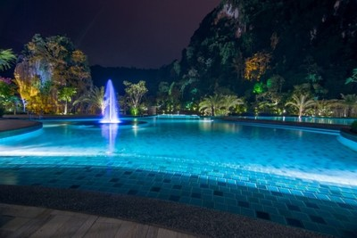 Pool at The Haven Resort Hotel in Ipoh, Malaysia