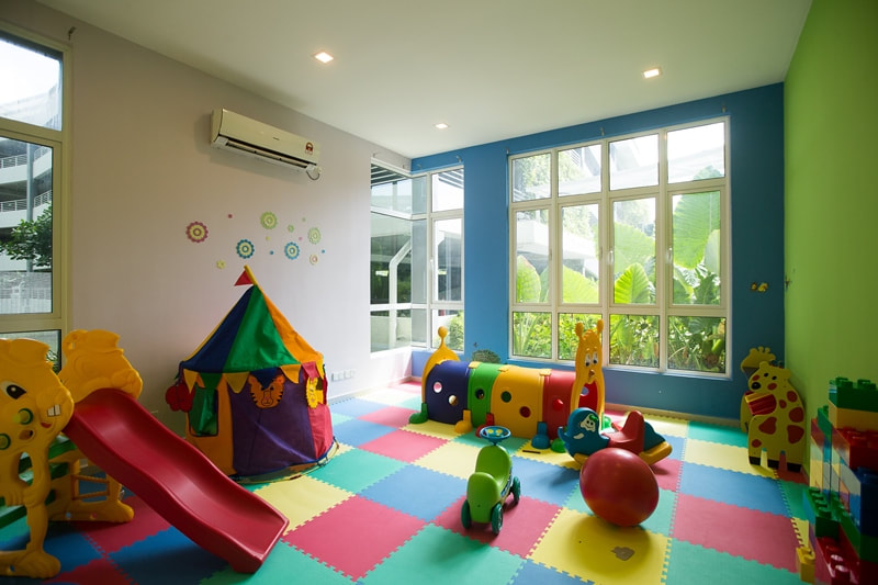 Kids facilities at The Haven Resort Hotel in Ipoh, Malaysia