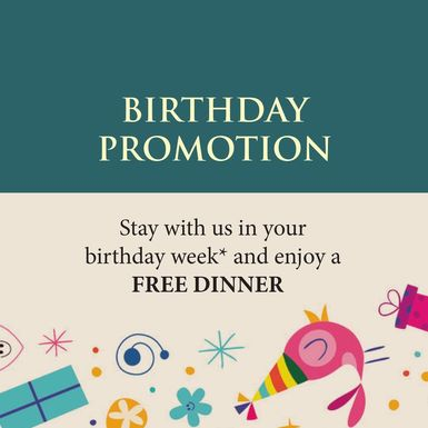 Birthday Promotion at The Haven Resort Hotel in Ipoh, Malaysia