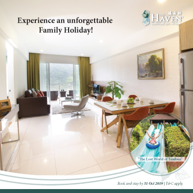Family Suite Promotion at The Haven Resort Hotel in Ipoh, Malaysia